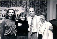 K Cherry, Mel White, Revs Tanis and Brecht