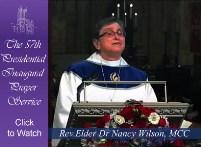 Nancy Wilson at Inaugural Prayer