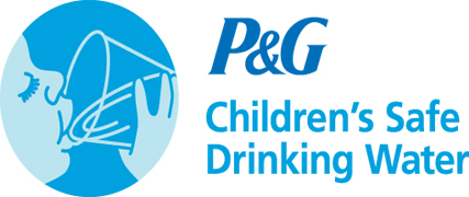 P&G safe water packet