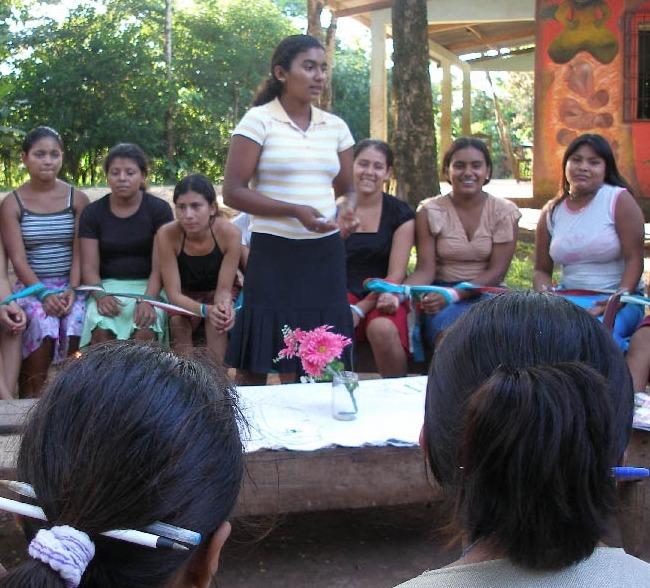 Young Women in Gender Workshop