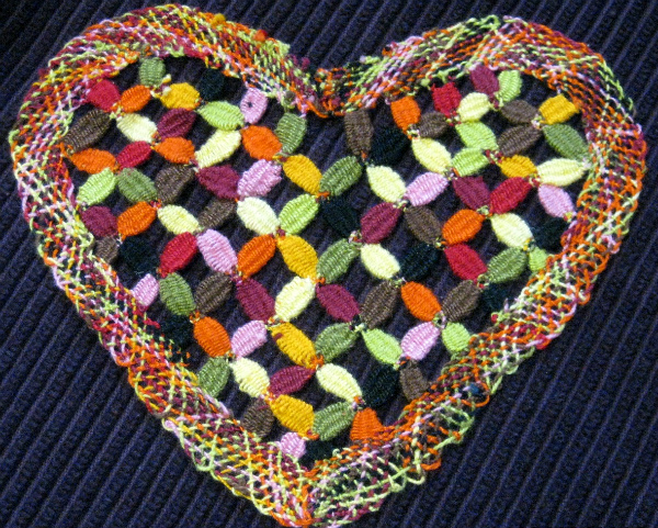 Lace Heart from Brazil
