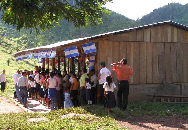 School Building in Nicaragua