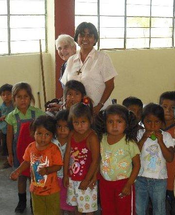 Sister Marleny in Peru