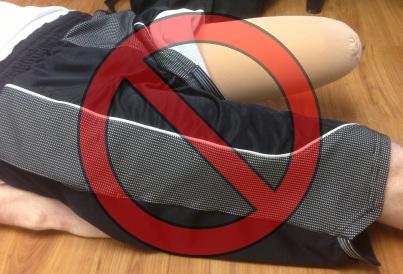 flexor muscles - no