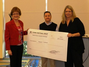 CUNA Mutual presents check to Mission Central