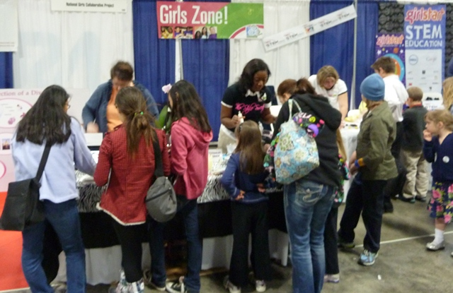 Girl Zone at the USA Science & Engineering Festival
