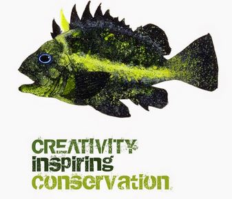 Creativity inspiring conservation logo