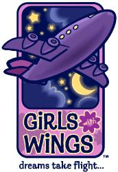 Girls with Wings Logo