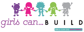 Girls Can Build Logo