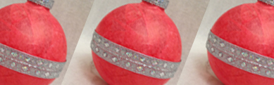 Handmade ornaments by Shawn Sargent