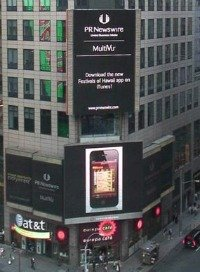 App NYC Times Square