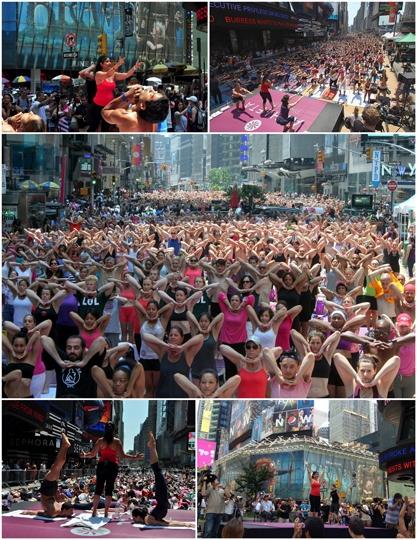 Times Square Bikram Class