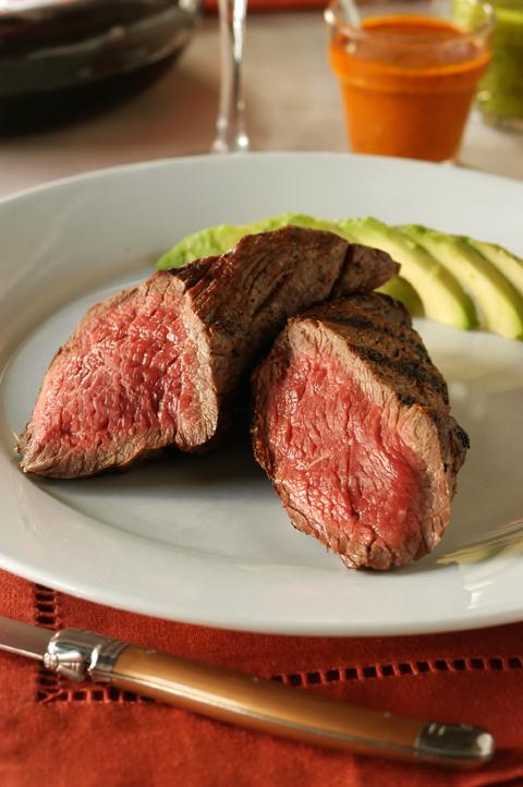 Steak with Avocado