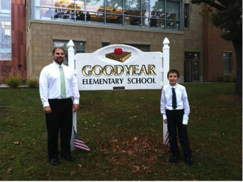 Goodyear Principal for a Day