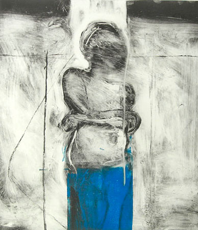FIGURE IN A BLUE