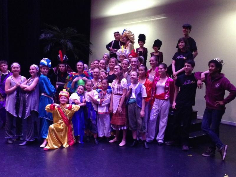 Aladdin Jr Cast 2016