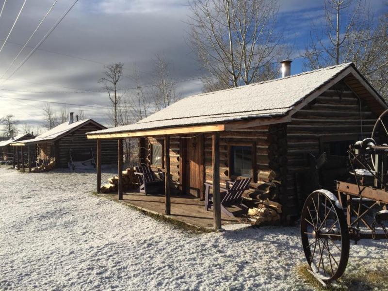 Winter Cabin at Flying U Ranch