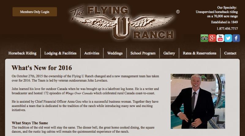 New Flying U Website
