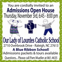 Our Lady of Lourdes Open House