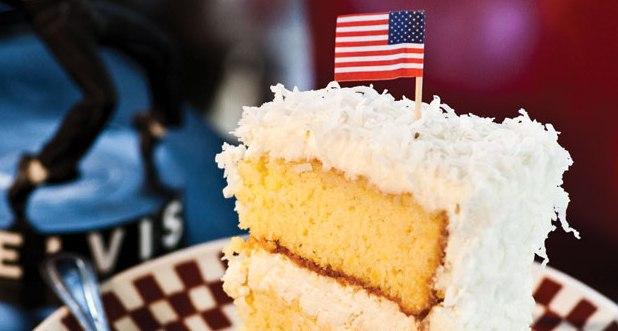 Hayes Barton Coconut Cake