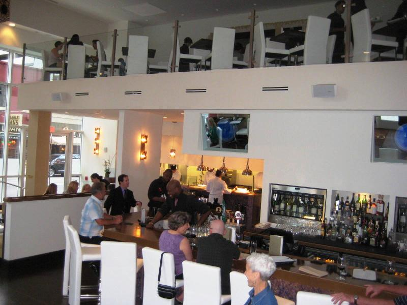 Oro bar and upstairs mezzanine