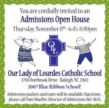Our Lady of Lourdes Open House 2012