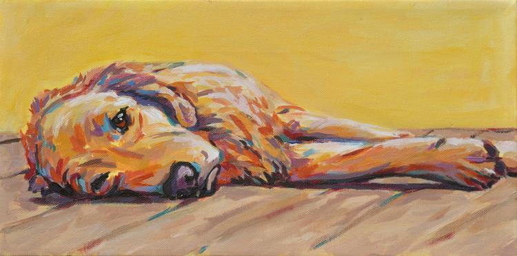 Pet Portrait by Allison Cranfill