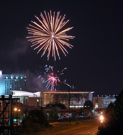 fireworks raleigh