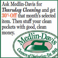 Medlin-Davis 30%Off Thursdays