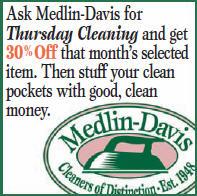 Medlin-Davis 30%Off Thursdays