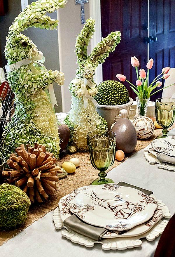 Beatrix Potter table setting
