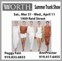 Worth Summer Trunk Show