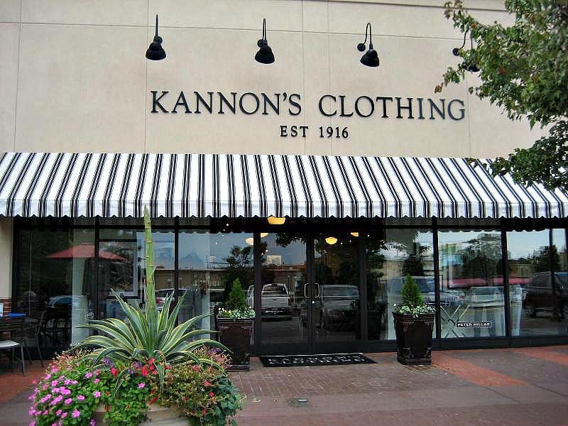 Kannon's Clothing Cameron Village