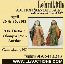 Leland Little Auction April 25-26, 2012