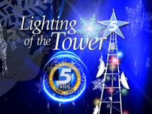 WRAL Tower of Lights