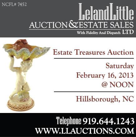 Leland Little Auction Feb 16, 2013