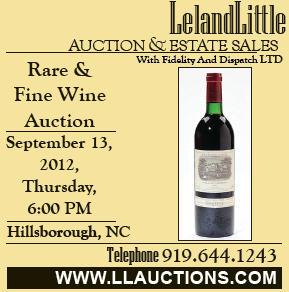Leland Little Auction Sept 13 2012