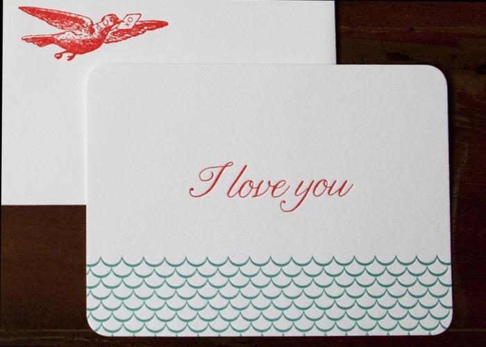 Letterpress Valentines
