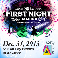 First Night Raleigh 2014