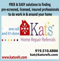 Kat's Home Repair Referrals