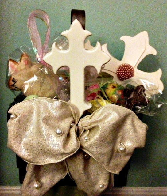 Easter Basket by Kim's Creations