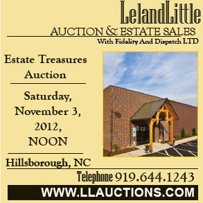 Leland Little Auction Nov. 3, 2012