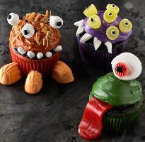 Mini Monsters Cupcakes