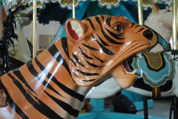 Pullen Park Carousel Tiger
