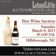Leland Little Auction Mar. 9, 2013