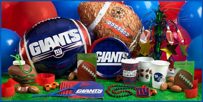 NY Ginats party supplies