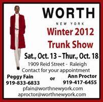 Worth Winter Trunk Show