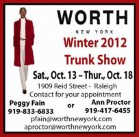 Worth Winter Trunk Show
