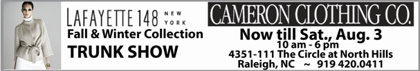 Cameron Clothing Trunk Show