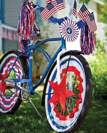 4th of July bike